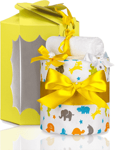 T-TOMI Plienková torta malá, žirafa