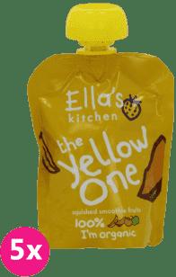 5x ELLA'S Kitchen Ovocné pyré - Banán (The Yellow One) 90g