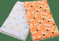 T-TOMI Ręczniki materiałowe, pomarańczowy