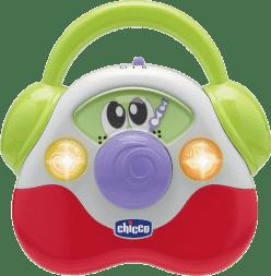 CHICCO Moje pierwsze baby radio światło dźwięk