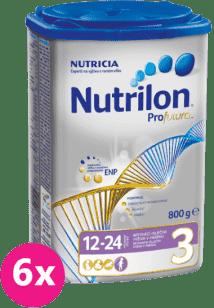 6x NUTRILON 3 ProFutura (800g) - dojčenské mlieko