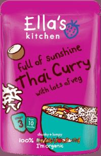 ELLA´S Kitchen Thai Curry – thajské karí 190g