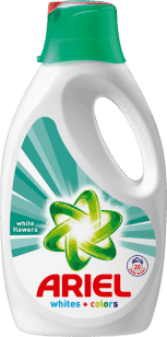 ARIEL White Flowers 1,3l (20 dávok) - tekutý prací prostriedok