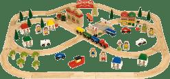 BIGJIGS Drewniana kolejka – Miasto i wieś 101 części