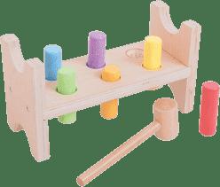 BIGJIGS Drevené hračky - zatĺkačka