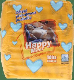 HAPPY MIMI Podkładki dla dzieci 10 szt.