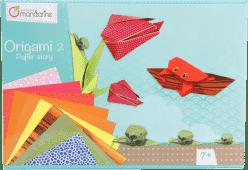 AVENUE MANDARINE Zestaw do origami 2