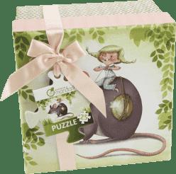 AVENUE MANDARINE Puzzle w pudełku podarunkowym - Myszka