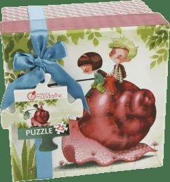 AVENUE MANDARINE Puzzle w pudełku podarunkowym - Ślimak