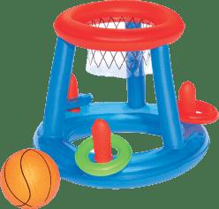 BESTWAY Dmuchany kosz do gry w koszykówkę w basenie