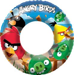 BESTWAY Koło do pływania Angry Birds 56cm