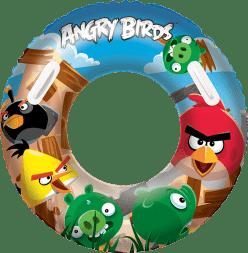 BESTWAY Koło do pływania aqua-speed Angry Birds 91cm