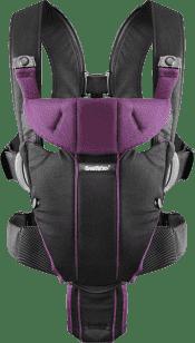 BABYBJÖRN Nosidełko Miracle – Black-Purple