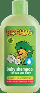 BOCHKO Szampon z rumiankiem i lipą dla dzieci 200 ml