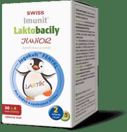 IMUNIT SWISS Laktobacily JUNIOR (30+6 tablet ZDARMA)