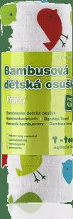 T-TOMI Ręcznik bambusowy, 1 szt., ptaszki