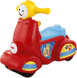 FISHER-PRICE Smart stages hovoriace scooter CZ