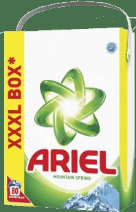 ARIEL Mountain Spring 6kg (80 dávok) - prací prášok