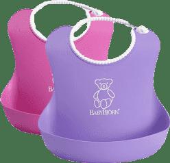 BABYBJÖRN 2 Śliniaki – Lila / Różowy