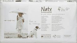 NATY NATURE BABYCARE Ekologiczne pieluszki 4+ (9-20Kg) 44 Szt