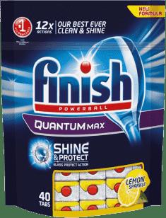 FINISH PB Tabs Quantum Shine & Protect Lemon 40 ks