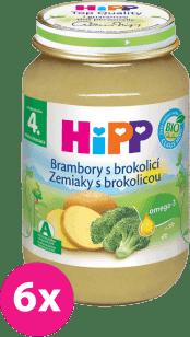 6x HIPP BIO zemiaky s brokolicou (190 g) - zeleninový príkrm