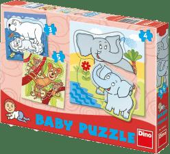 DINO Baby Puzzle ZOO