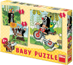 DINO Baby Puzzle Krtko na lúke