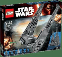 LEGO® Star Wars TM Kylo Ren 's Command Shuttle ™ (Kylo Renova veliteľská loď)