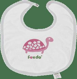 FEEDO podbradník korytnačka dievčatko