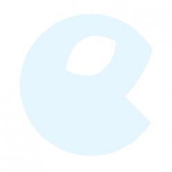 KIKKO Pieluszki bambusowe Hearts&Waves 70x70 (3 szt.) – ocean blue