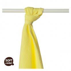 KIKKO Bambusowy ręcznik/pieluszka Colours 90x100 (1 szt.) – lemon