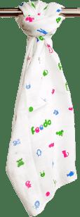 FEEDO látková plienka, 100% bavlna, 1 ks, 70x70 cm