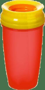 LOVI Hrnček 360˚ ACTIVE 350ml - červená