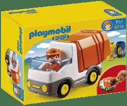 PLAYMOBIL Popelářský vůz (1.2.3)