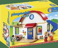 PLAYMOBIL Dom na predmestí (1.2.3)