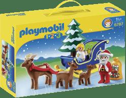 PLAYMOBIL Santa Claus na saniach (1.2.3)