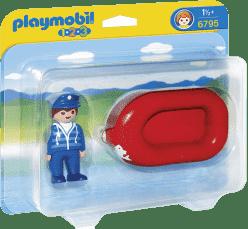 PLAYMOBIL Plavčík na člunu (1.2.3.)