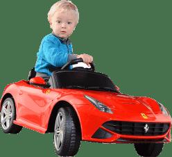 BUDDY TOYS Elektryczne Auto Ferrari