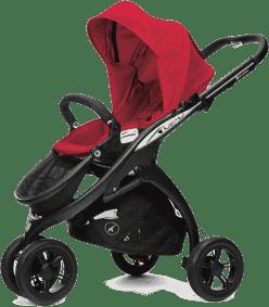 CASUALPLAY Sportowy Wózek Kudu 3 Black 2015 - Raspberry