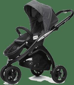CASUALPLAY Sportowy Wózek Kudu 3 Black 2015 - Metal