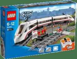 LEGO® City Trains Superszybki pociąg pasażerski