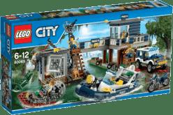 LEGO® City Police Posterunek policji z bagien