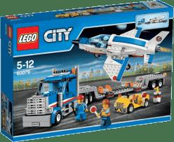 LEGO® City Space Port Transportér pre prevoz raketoplánu