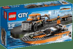 LEGO® City Great Vehicles Motorový člun 4x4