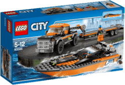 LEGO® City Great Vehicles Terenówka z motorówką