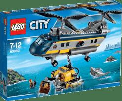 LEGO® City Deep Sea Explorers Vrtuľník pre hlbinný morský výskum