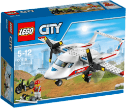 LEGO® City Great Vehicles Záchranárske lietadlo