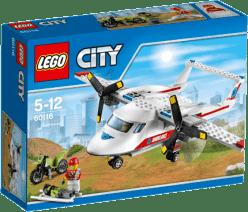 LEGO® City Great Vehicles Samolot ratowniczy