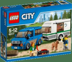 LEGO® City Great Vehicles Dodávka a karavan